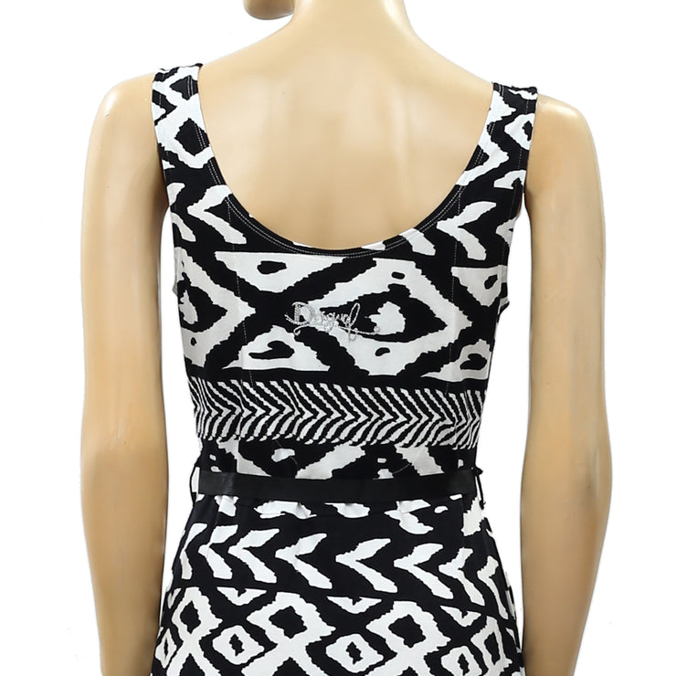 Desigual Printed Mini Dress XS