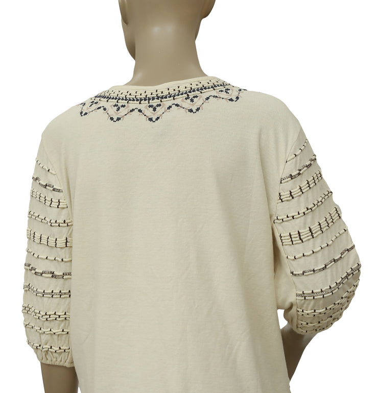 Free People New Romantics Albion Tee Top M