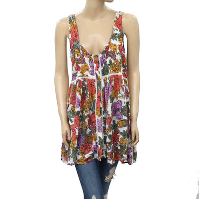 Anthropologie Jules Babydoll Tunic Top M