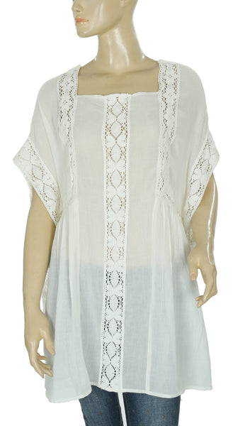 Free People Willow Rose Beach Cover Up Tunic S