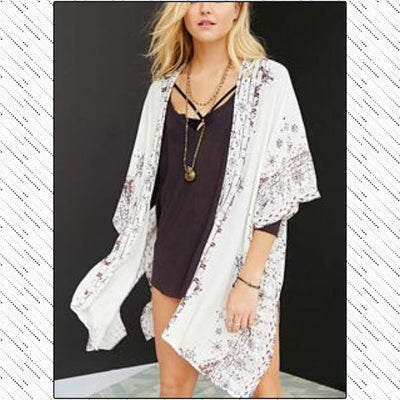 Ecote Urban Outfitters Printed Kaftan Beach Coverup M L