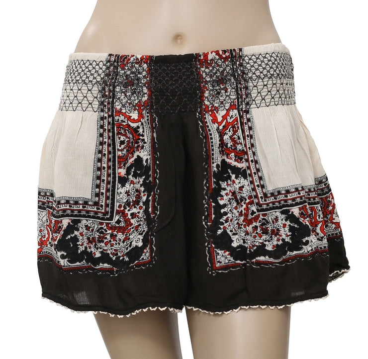Free People Color Between Borders Shorts L