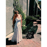Free People Mirrors Formal Embroidered Wedding Evening Maxi Dress XS