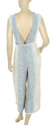 Free People Moab Jumper Button Jumpsuit M