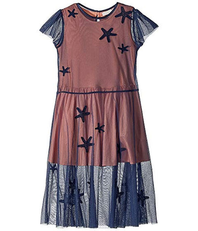 Mccartney Stella Marigold Star Patches Dress 14 15 Years