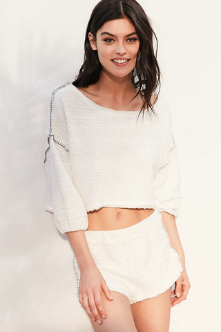Out From Under Urban Outfitters Andes Pullover Top M
