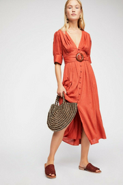 Free People Heart This Midi Dress S