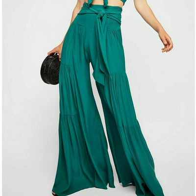 Free People Fp One Palermo Green Pants XS