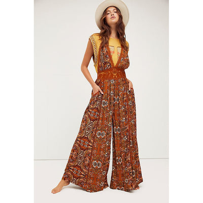 Free People Cosmos Jumpsuit Dress S
