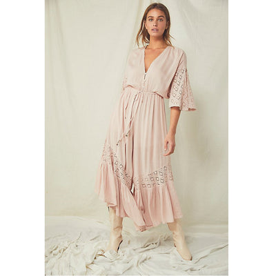 Free People Angela Jumpsuit Dress M