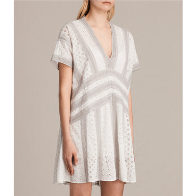 All Saints Cyndi Tee Mini Dress S