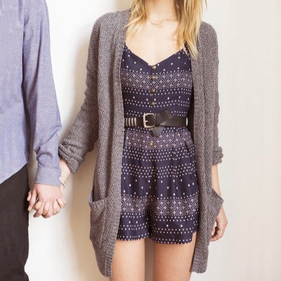 Kimchi Blue Urban Outfitters Ashley Dot Printed Romper Dress M