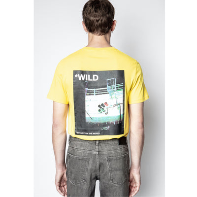 Zadig & Voltaire Men's Ted Photoprint Wild T-shirt