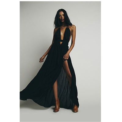 Free People Look Into The Sun Maxi Dress S