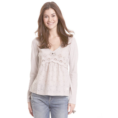 Odd Molly Anthropologie Circular Blouse Top S