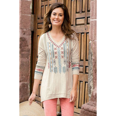 Soft Surroundings Sarabelle Tunic Top S
