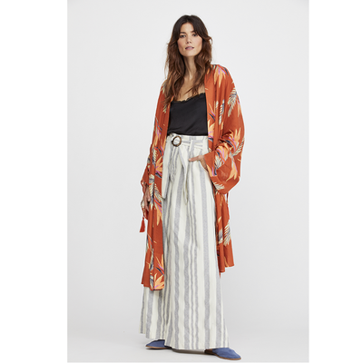 Free People Read My Palm Kimono Coverup Top