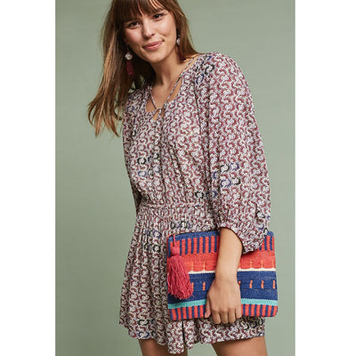 Holding Horses Anthropologie Annamaria Romper Dress XSP