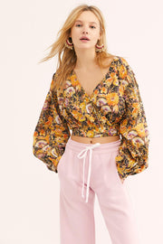 Free People Party Playlist Blouse Top XS