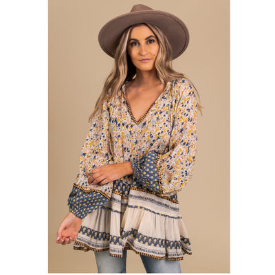 Free People Gardenia Tunic Top