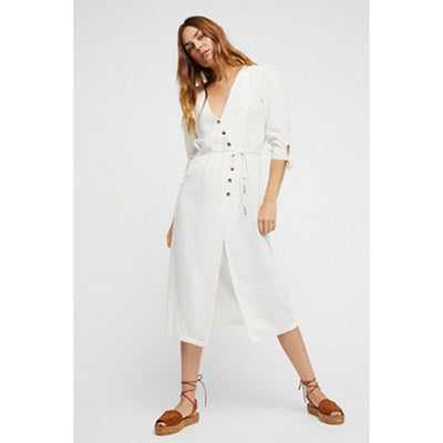 Free People Zappora Midi Dress M