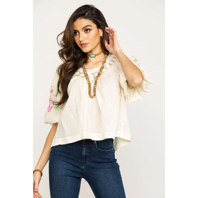 Free People Bohemia Blouse Top XS