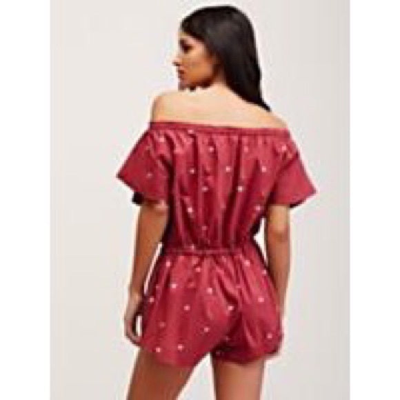 Intimately Free People Santorini Lounge Romper Dress M