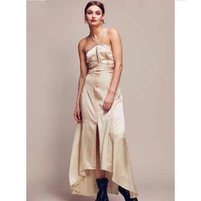 Free People Limited Edition Moonbeam Maxi Dress S 4