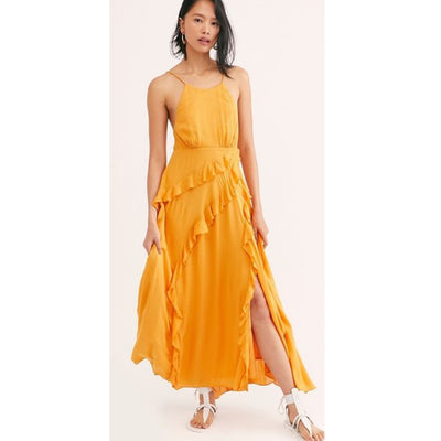 Free People Beso Maxi Dress S
