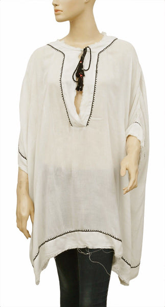 Out From Under  Lola Kaftan Beach Wear CoverUp Tunic Top M