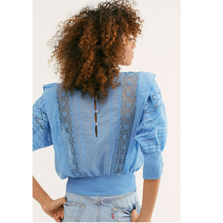 Free People FP One Sydney Blouse Top