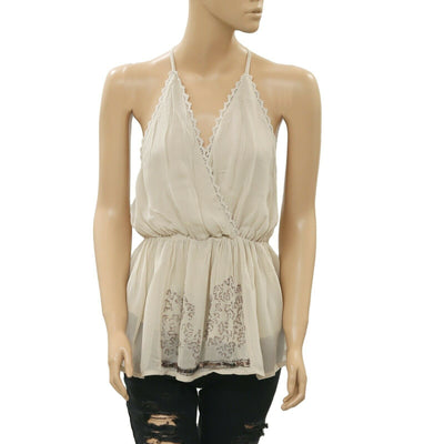 Free People Make You Mine Blouse Tank Top S