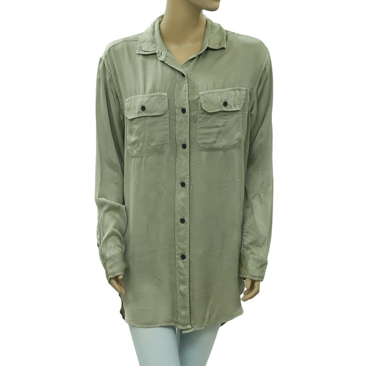 Denim & Supply Ralph Lauren Buttondown Tunic Shirt Top XS