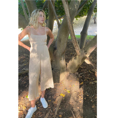 Urban Outfitters Uo Greta Knit Jumpsuit Dress L