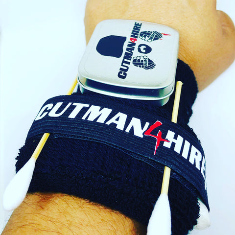 Boxing Cornerman Cutman Wrist bands