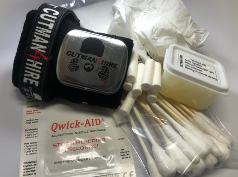 Cutman4hire Loaded Utility Wristband Kit