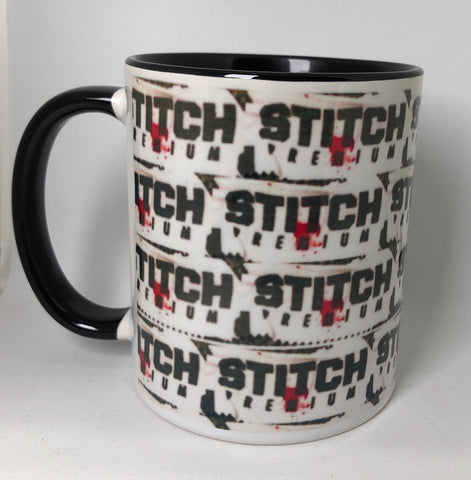 Stitch 'Blood Business' ceramic Mug (11 oz)