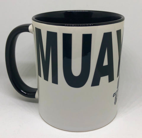 Muay Thai Ceramic Mug (11oz)
