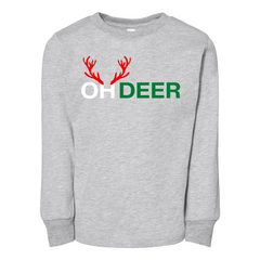 OH DEER - Toddler Jersey Long Sleeve Tee