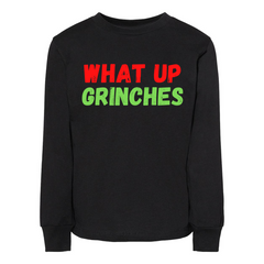 WHAT UP GRINCHES - Toddler Jersey Long Sleeve Tee