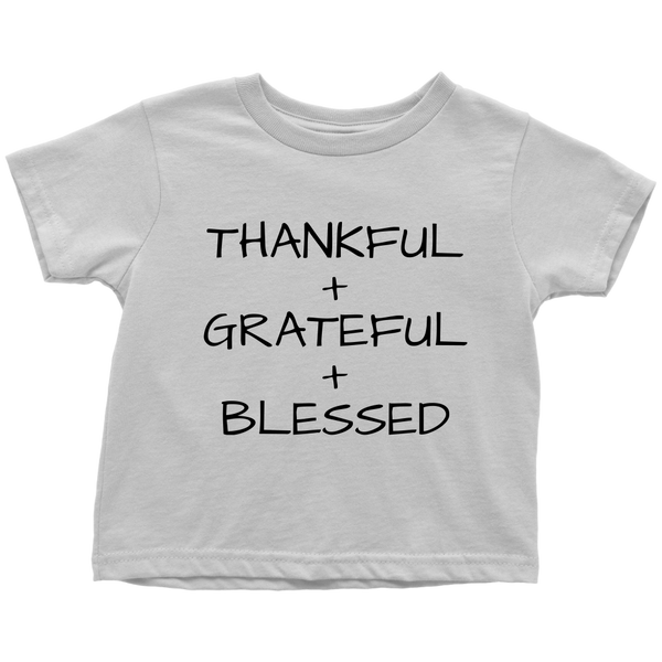THANKFUL + GRATEFUL + BLESSED - Fly Guyz Clothing Co.