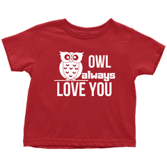 OWL ALWAYS LOVE YOU - RED