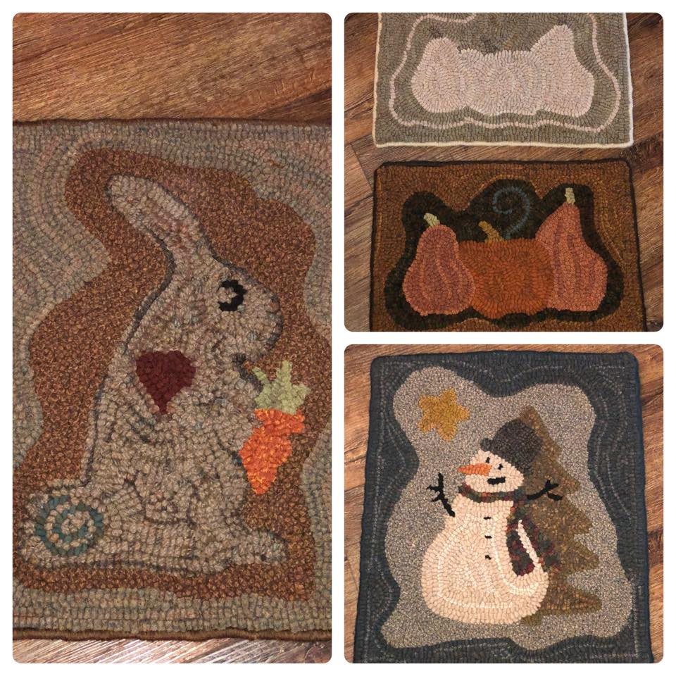 Special Hooked Rug Class Scheduled for October 6th!