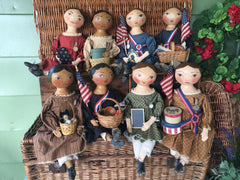 Dolls by  Folk Artist Robin Harding Smith