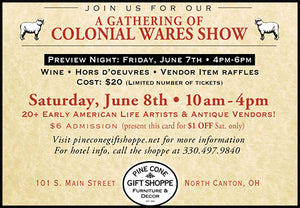 A Gathering of Colonial Wares Show
