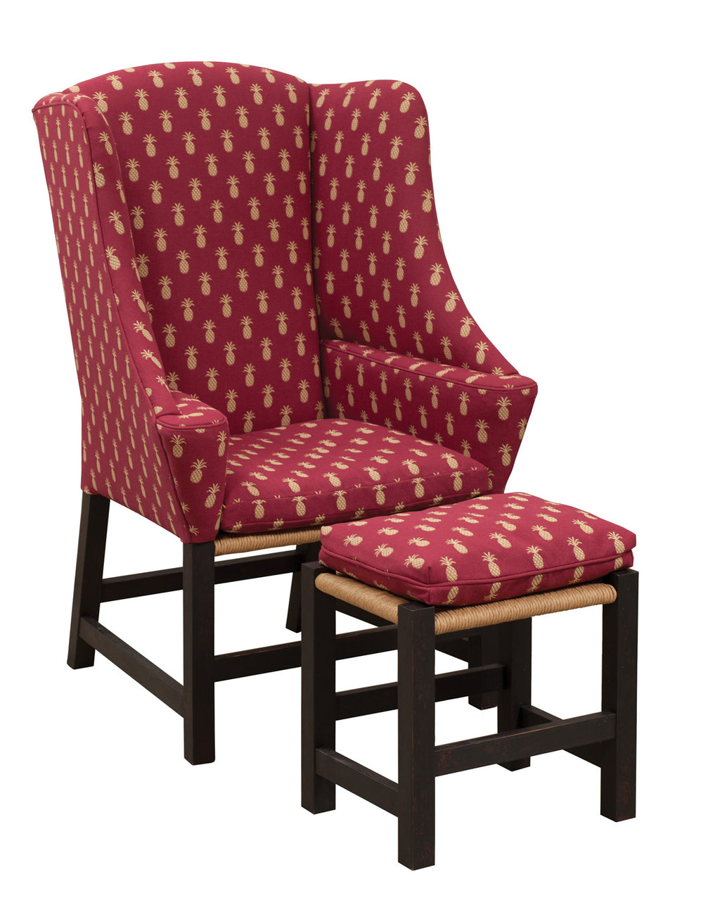 Center Inn Gent Chair and Matching Footstool
