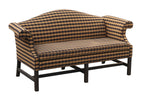 Formal Camelback Sofa 72""