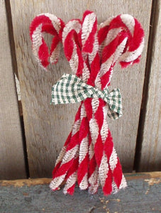Dirty Candy Canes Ornament