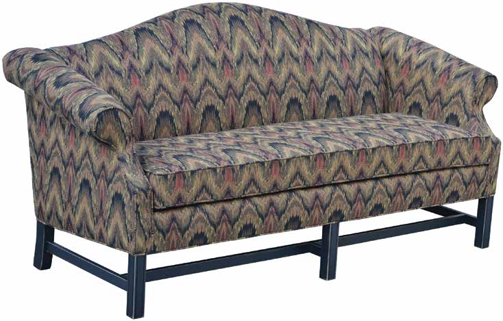 Country Chippendale Sofa - 77""