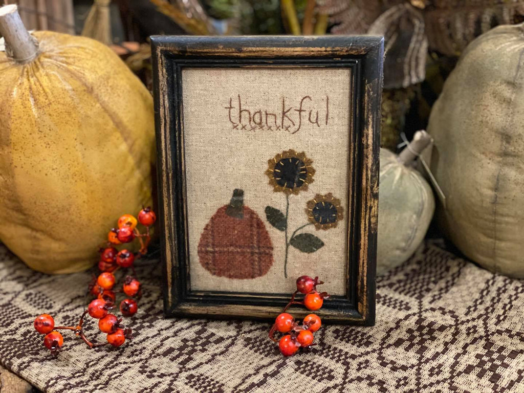 Thankful Primitive Fall Stitchery